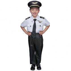 Fantasia Infantil Piloto de Avião Clássica
