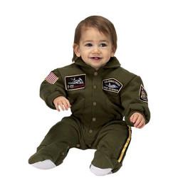 Fantasia Infantil Piloto de Caça da Força Aérea Americana Bebê