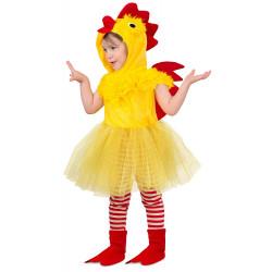 Fantasia Infantil Pintinho Vestido