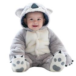 Fantasia Koala Bebê Parmalat Adorável