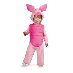 Fantasia Leitao Infantil Luxo Piglet Ursinho Pooh