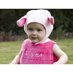 Fantasia Leitão Ursinho Pooh Luxo Bebê Infantil