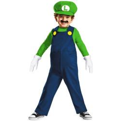 Fantasia Mario Bros Luigi Bebê