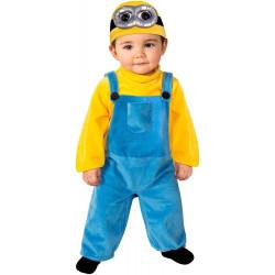 Fantasia Minion Bob Meu Malvado Favorito Infantil Bebê