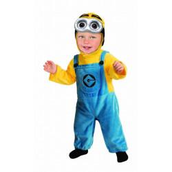 Fantasia Minion Dave Meu Malvado Favorito Infantil Bebê