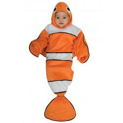 Fantasia Nemo Bebê Recem Nascido Infantil