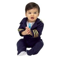 Fantasia Piloto de Avião para Bebês