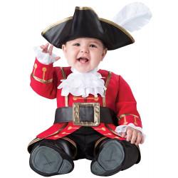 Fantasia Pirata Capitão Gancho Baby Infantil Luxo