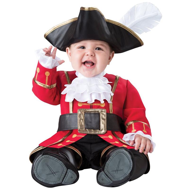 Fantasia Pirata Capitão Gancho Baby Infantil Luxo 711ed646504