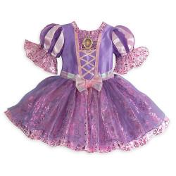 Fantasia Rapunzel Enrolados Disney Bebê Luxo
