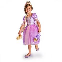 Fantasia Rapunzel Enrolados Disney Infantil