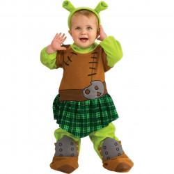Fantasia Shrek Fiona Infantil Bebê