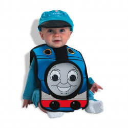 Fantasia Thomas Trem Infantil Bebê