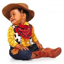 Fantasia Toy Story Infantil Bebê Woody Luxo