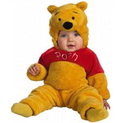 Fantasia Ursinho Pooh Luxo Infantil Bebê