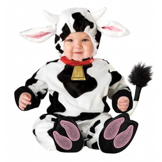 Fantasia Vaca Bebê Parmalat