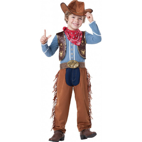 Fantasia Woody Toy Story Bebê Cowboy