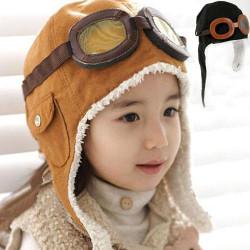 Touca Infantil de Piloto Aviador