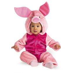 Ursinho Pooh Fantasia Luxo Infantil Leitão