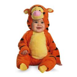 Ursinho Pooh fantasia Luxo Tigre Tigrão Infantil Dupla Face