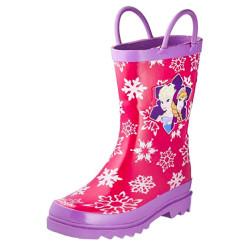 Bota Elsa e Anna Frozen Borracha Infantil