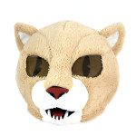 Cabeça Capacete Máscara Cougar Pelúcia Luxo