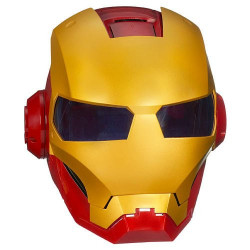 Capacete Eletrônico do Homem de Ferro Ironman Os vingadores Luxo