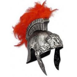 Capacete Medieval Armadura Grego Romano Prateado