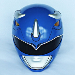 Capacete Power Rangers Azul Luxo