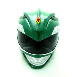 Capacete Power Rangers Verde Cosplay