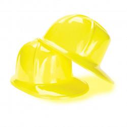 Chapéu Capacete Infantil de Engenheiro Construtor