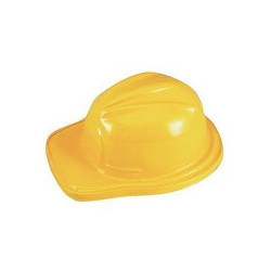 Chapéu Capacete Infantil de Engenheiro Construtor Clássico