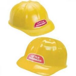 Chapéu Capacete Infantil de Engenheiro Construtor Luxo
