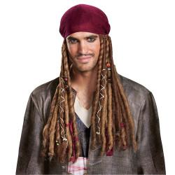Bardana com Tranças Jack Sparrow POTC5