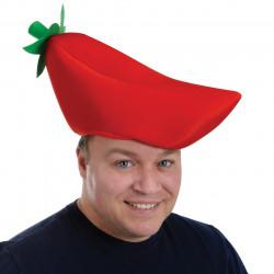 Chapéu de Pimenta vermelha