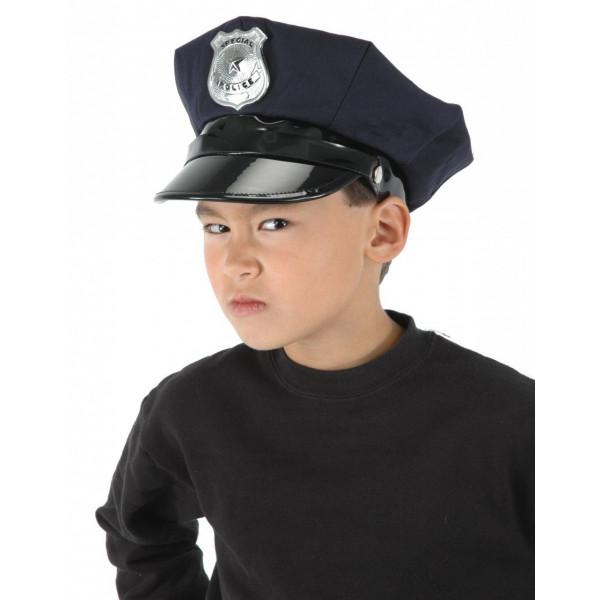 Chapéu Infantil de Policial Luxo