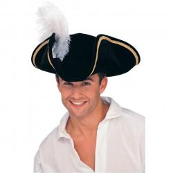 Chapéu Pirata Adulto Buccaneer Clássica
