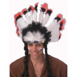 Cocar Indígena Luxo Adulto