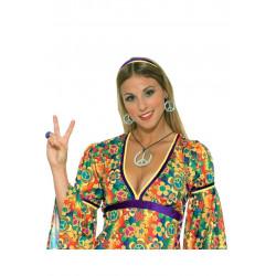 Colar e Brinco Hippie