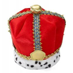 Coroa Adulto Real Dourada Luxo