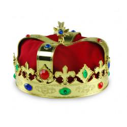 Coroa de Rei com Pedras Luxo