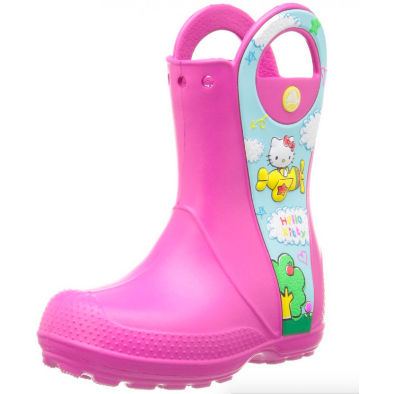 9bf59457e45 Bota Hello kitty Borracha Infantil
