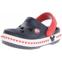 Crocs Infantil Azul e Vermelho Mickey Mouse