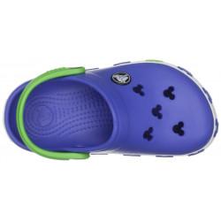 Sapato Crocs Infantil Azul Mickey Mouse Disney