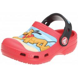 Sapato Crocs Infantil Vermelho Mickey e Pluto Disney