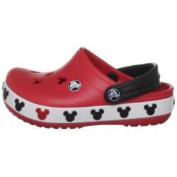 Sapato Crocs Infantil Vermelho Mickey Mouse Disney