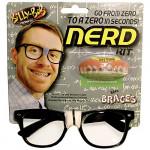 Dente com Aparelho Nerd Geek Clássica