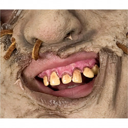 Dentes Leatherface Adulto Luxo