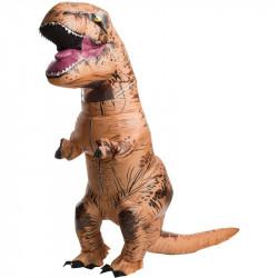 Fantasia Inflável Jurassic Park O Mundo dos Dinossauros Adulto