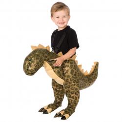 Fantasia Montar em Dinossauro T-Rex Infantil